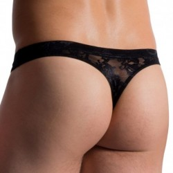 M759 Hip Thong - Black