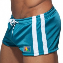 Addicted Geoback Short - Blue