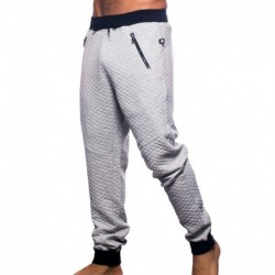 Zip Street Pants - Heather Grey