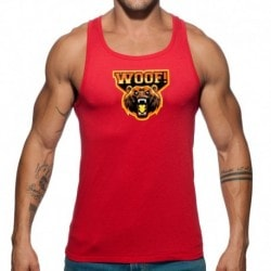 Woof Tank Top - Red
