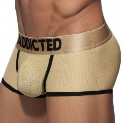 Basic Colors Mesh Boxer - Gold