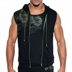 ES Collection Jungle Hoody - Black