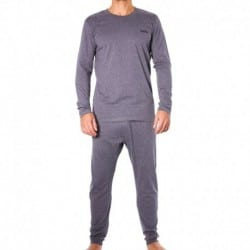 Happy Holidays Pyjama Set - Grey