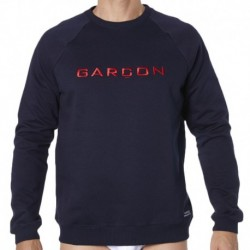 Sweat-Shirt Marine - Rouge