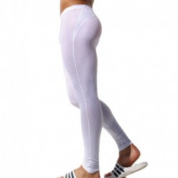 Legging Grid Blanc
