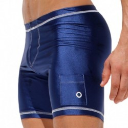 Liner Cycle Short - Navy
