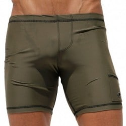 Rufskin Liner Cycle Short - Olive