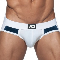 Addicted Velvet Combi Boxer - White