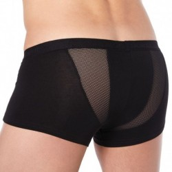 Sportive Mesh Side Boxer - Black