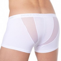 Sportive Mesh Side Boxer - White