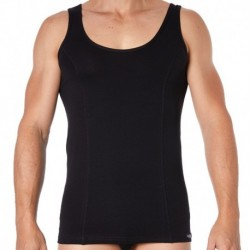 Essential Muscle Tank Top - Black