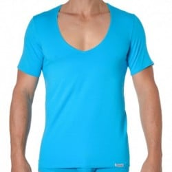 Essential V-Neck T-Shirt - Turquoise