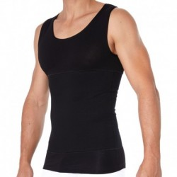 Shapewear Corset Tank Top - Black