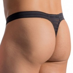 RED 1761 Mini Thong - Black
