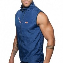 Addicted Fast Dry Sleeveless Vest - Navy