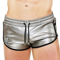 TOF Silver Shorts - Silver