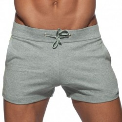 Addicted Short Sport Geoback Gris