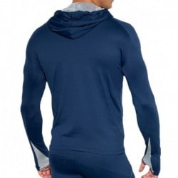 ES Collection Sweat-Shirt Tech Metallic Marine