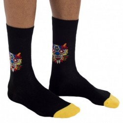 China Socks - Black