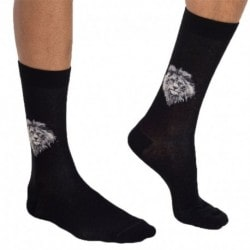 Lion Socks - Black