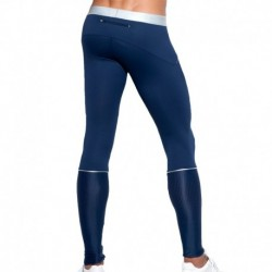 Legging Tech Metallic Marine