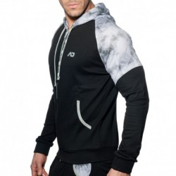 Addicted Geoback Vest - Black