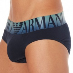 Shades of Blue Brief - Navy