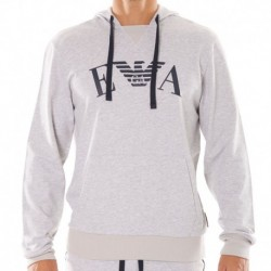 Emporio Armani Iconic Terry Sweater - Heather Grey