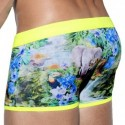 Boxer de Bain Blake Jungle Jaune