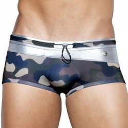 Elton Metal Swim Boxer - Grey Camo