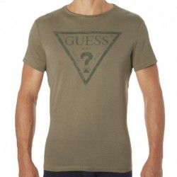 Guess? T-Shirt - Kaki