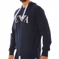 Emporio Armani Iconic Terry Sweater - Navy