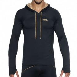 ES Collection Sweat-Shirt Tech Metallic Noir