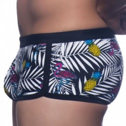 Tropical Flamingo Swim Boxer