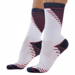 2-Pack X-Temp Sport Socks - Navy - White
