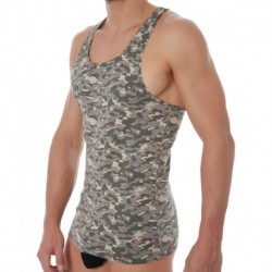 Doreanse Camouflage Tank Top