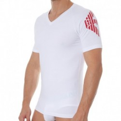 T-Shirt Bold Eagle Blanc