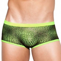 Taylor net Swim Boxer - Neon Yellow