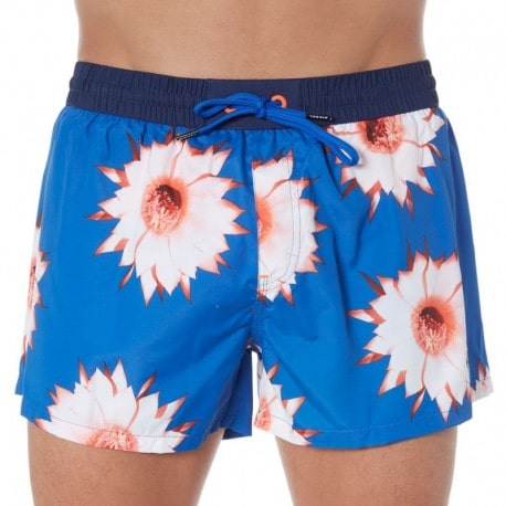 Diesel Tropical Swim Short - Blue