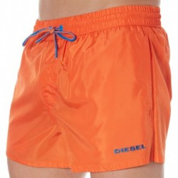 Short de Bain Uni Orange