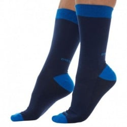 2-Pack Easy Socks - Navy - Royal