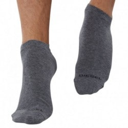 Lot de 3 Socquettes Unies - Gris