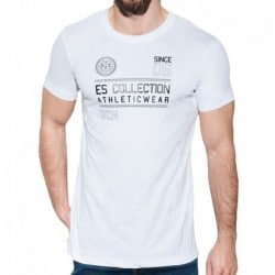 ES Collection T-Shirt Athletic Blanc