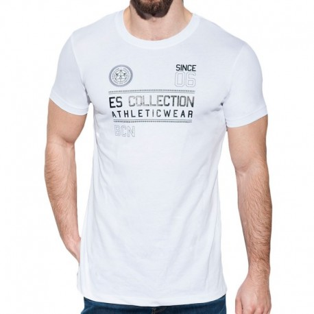 ES Collection Athletic T-Shirt - White