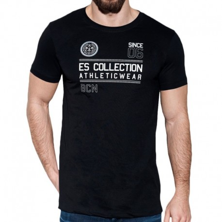 ES Collection Athletic T-Shirt - Black
