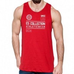 Athletic Tank Top - Red