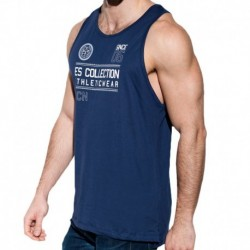 ES Collection Athletic Tank Top - Navy