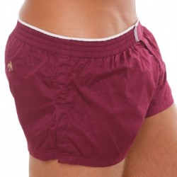 Marcuse Twitch Short - Burgundy