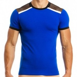 Multi C-Through T-Shirt - Blue