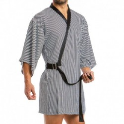 Modus Vivendi Animal Kimono - Black - White Stripes